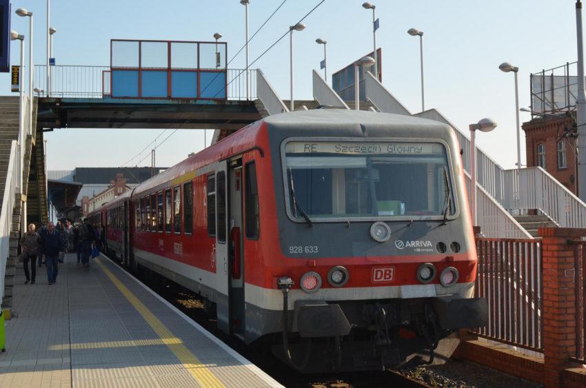 VT 628 in Szczecin Glowny
